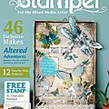 Publiée dans craft stamper magazine / i'm published again in craft stamper magazine!!