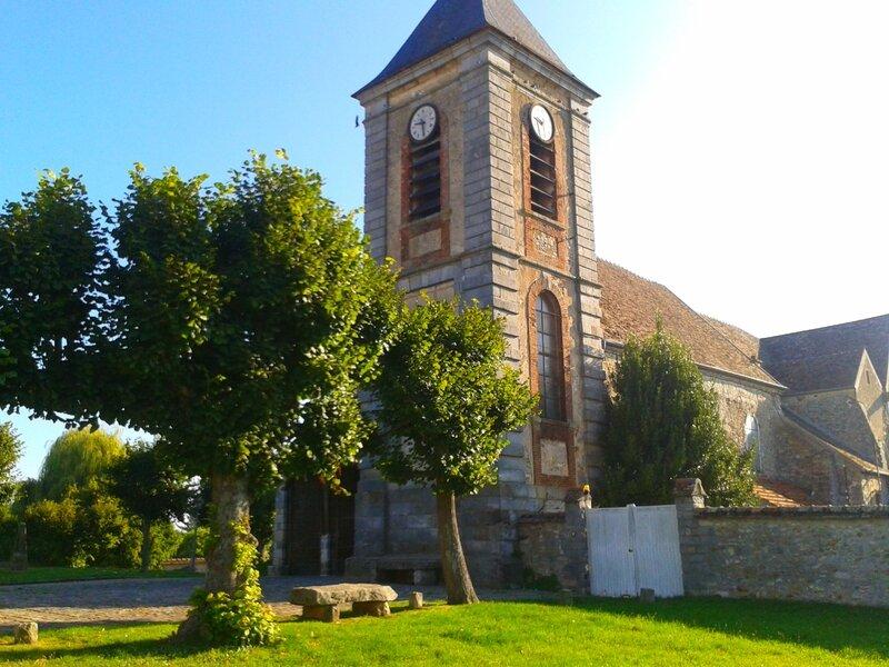L'église de Chailly en Biére
