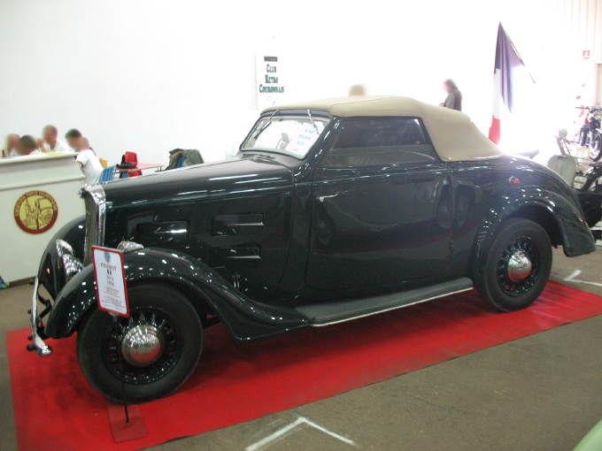 peugeot 301 d type cd6 d capotable 1935 autos crois es. Black Bedroom Furniture Sets. Home Design Ideas