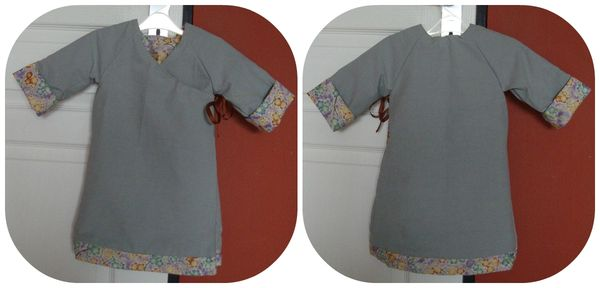 collagereversible dress