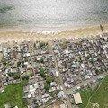 quartier des pêcheurs sur le littoral