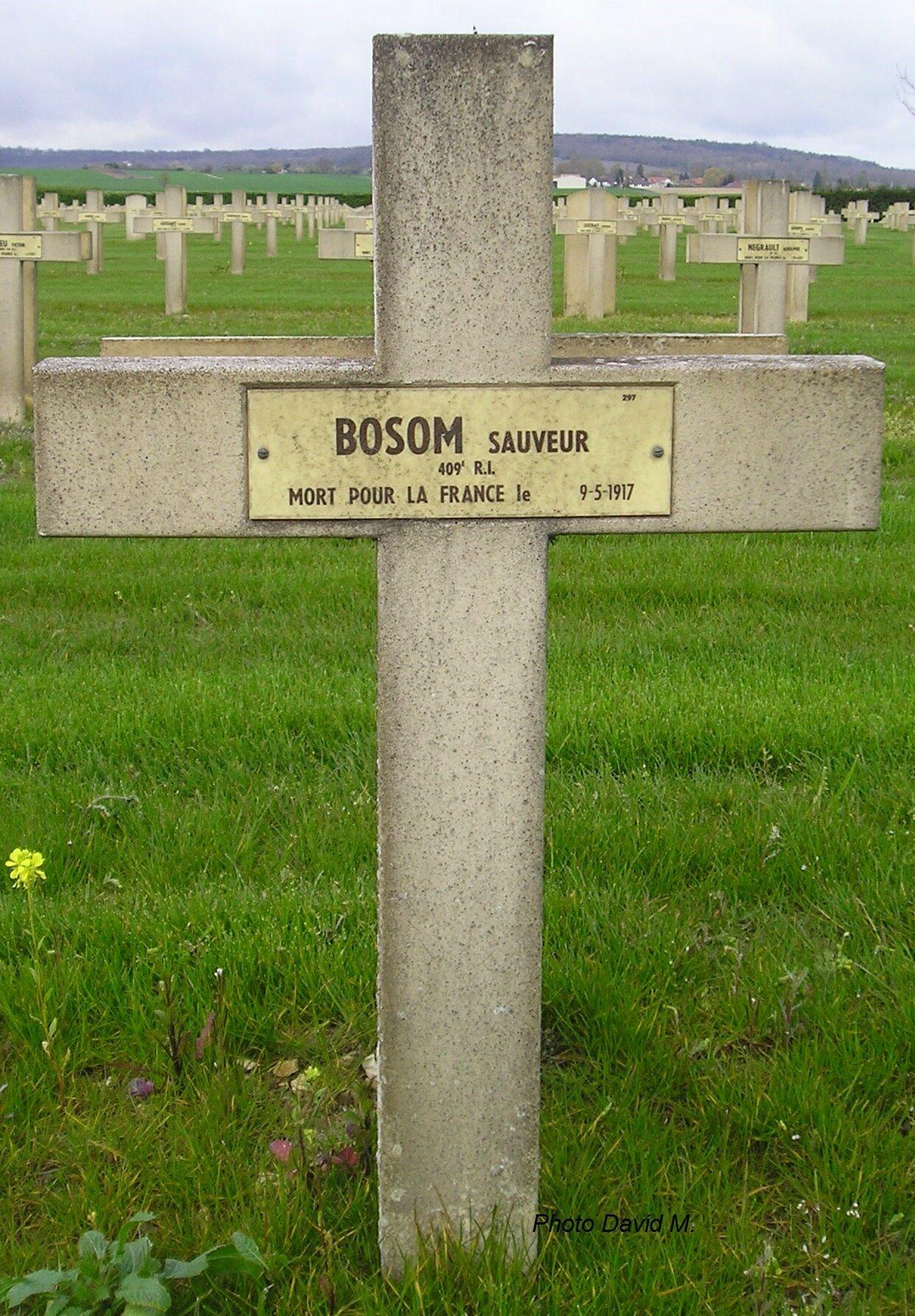 BOSOM Sauveur Louis