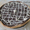 TOU BICHVAT...TARTE AUX POIRES-CHOCOLAT...MIAM !!!!