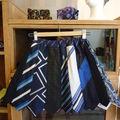 Jupes en cravates