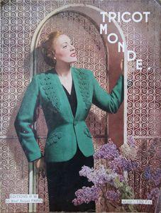 Tricot monde n° 212 - Années 1950 (1)