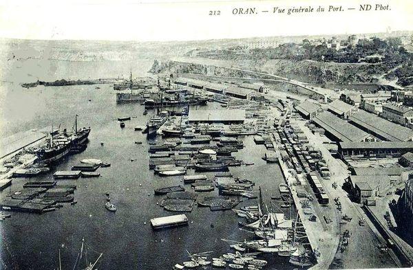Oran- 156- travail sur les quais