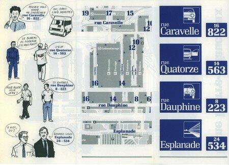 © 1990 François-Noël TISSOT Une Identité Pour Demain ® Aubergenville RENAULT Usine Pierre LEFAUCHEUX à Flins Information des collaborateurs Utilisation de la signalétique