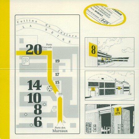 © 1990 François-Noël TISSOT Une Identité Pour Demain ® Aubergenville RENAULT Usine Pierre LEFAUCHEUX à Flins Accès des livraisons Porte des Mureaux