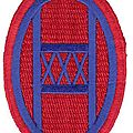 30th infantry division. the old hickory.