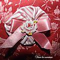 Pochette rose Tilda 2