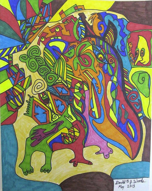 WOODS Joseph the Dragon mai 2013 28 x 21,6