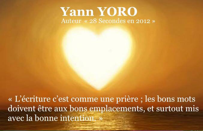 Yann Yoro - Inspirateur du monde