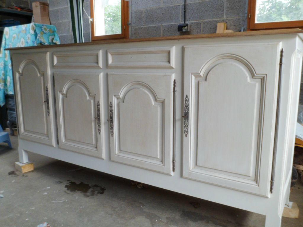 Cr dits photos p6 storage canalblog quotes for Peindre meuble bois en blanc