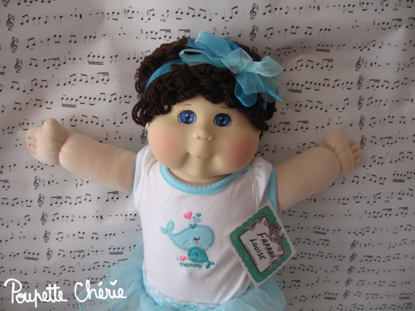 Cabbage Patch Kids Bleue 02