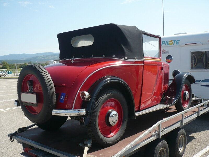MATHIS type PYC cabriolet 1930 Pont d'Ain (2)