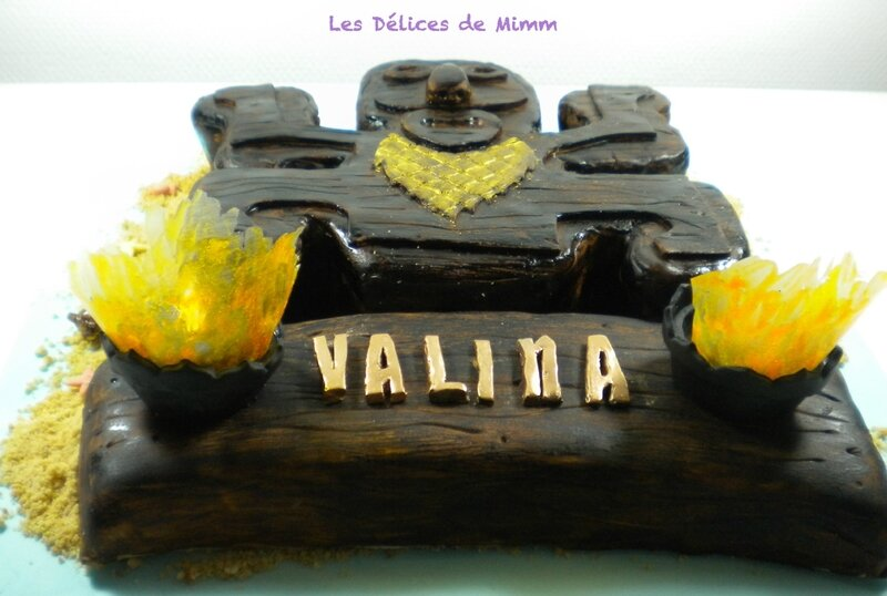 Gâteau Koh-Lanta 6