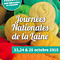 Journées nationales de la laine, felletin 23 au 25 octobre
