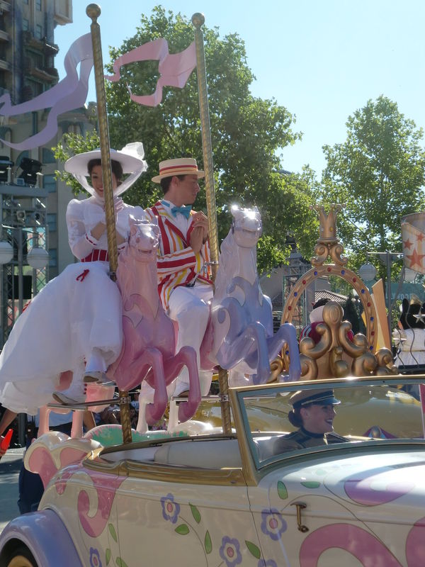 la parade des Disney Studios : Mary Poppins