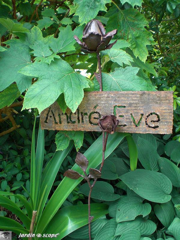 Mai 2009 - avec un nouveau groupe de jardinautes
