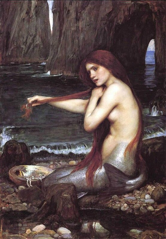 John William Waterhouse - The Mermaid - 1900
