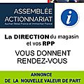 Assemblée actionnariat magasin