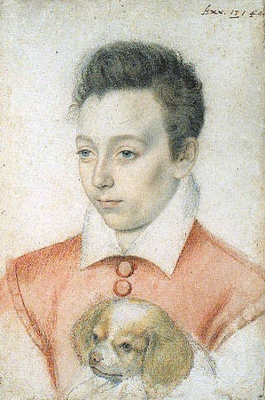 Portrait dit Charles IX