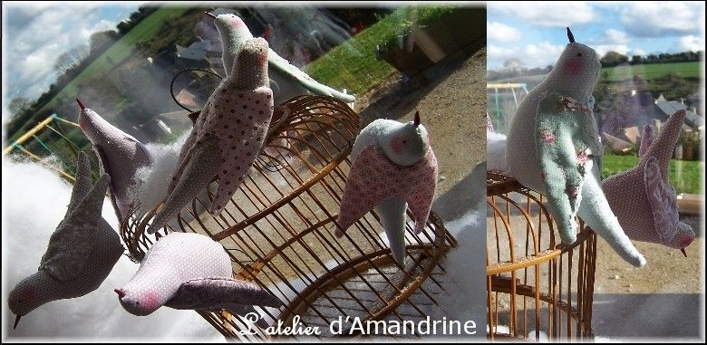 Oiseaux Tilda !