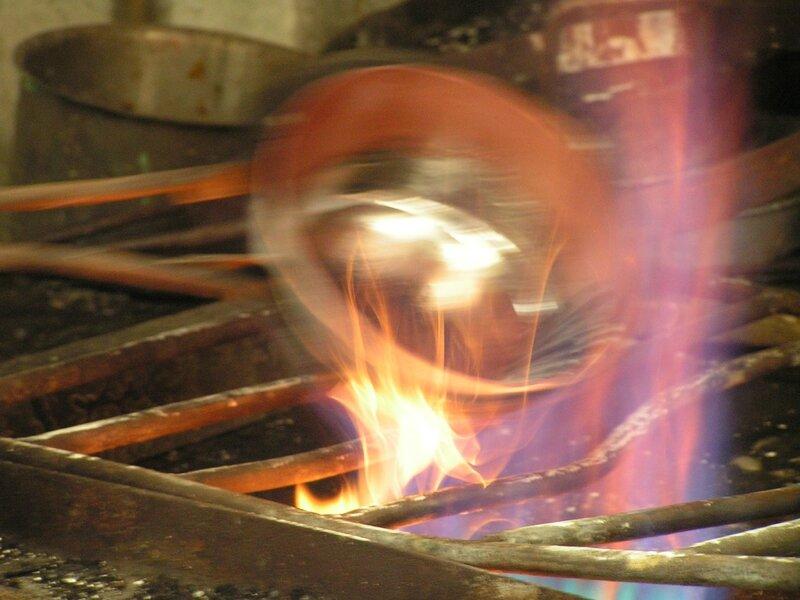 2015 05 22 - Mauviel (48) - étamage du cuivre
