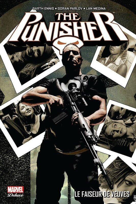 marvel deluxe punisher 05 le faiseur de veuves