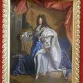 Tableau du Roi Soleil - Louis XIV