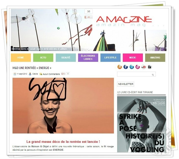 Article Amagzine - M&O sept 2013