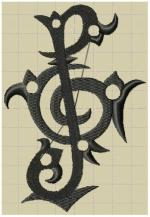 clef de sol tatoo