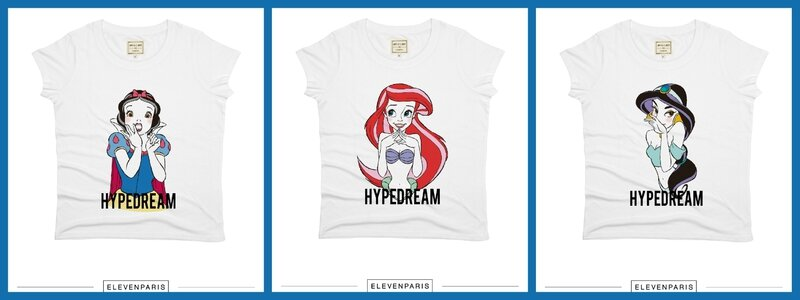 tshirt-princesses-disney