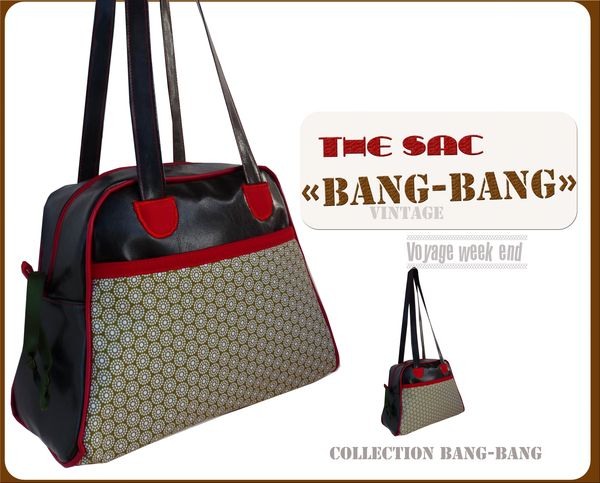 sac bang bang simili marron et vertfleurr5