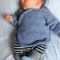 cache-coeur tricoté par nadia de barbotine