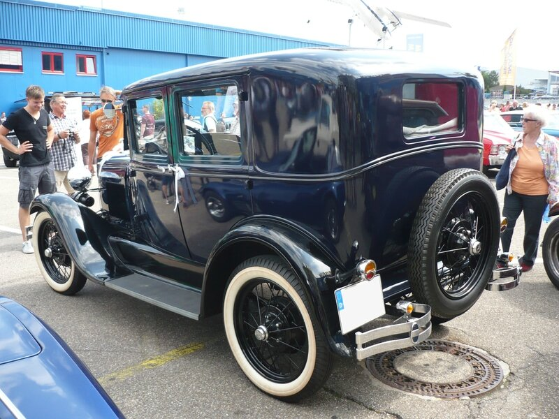 FORD Model A 4door Sedan Sinsheim (2)