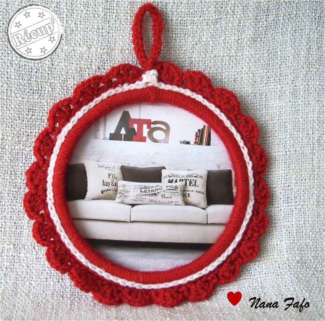 cadre-pot-fromage-blanc-crochet-rouge