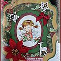 Carte souhait Noël 2012