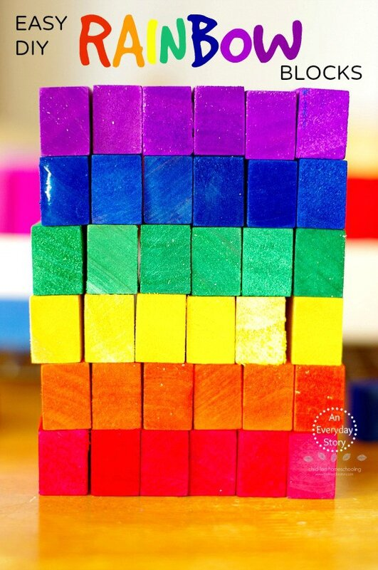 Easy-DIY-Rainbow-Blocks-An-Everyday-Story