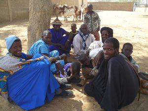 les hommes de la famille FATOMA Mali