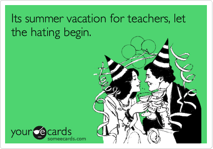 teachers summer vacations
