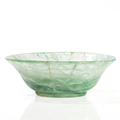 Exquisite green quartz (prasiolite) bowl, china, qing dynasty, 18th century