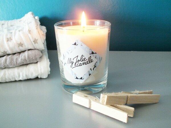1 my jolie candle linge frais