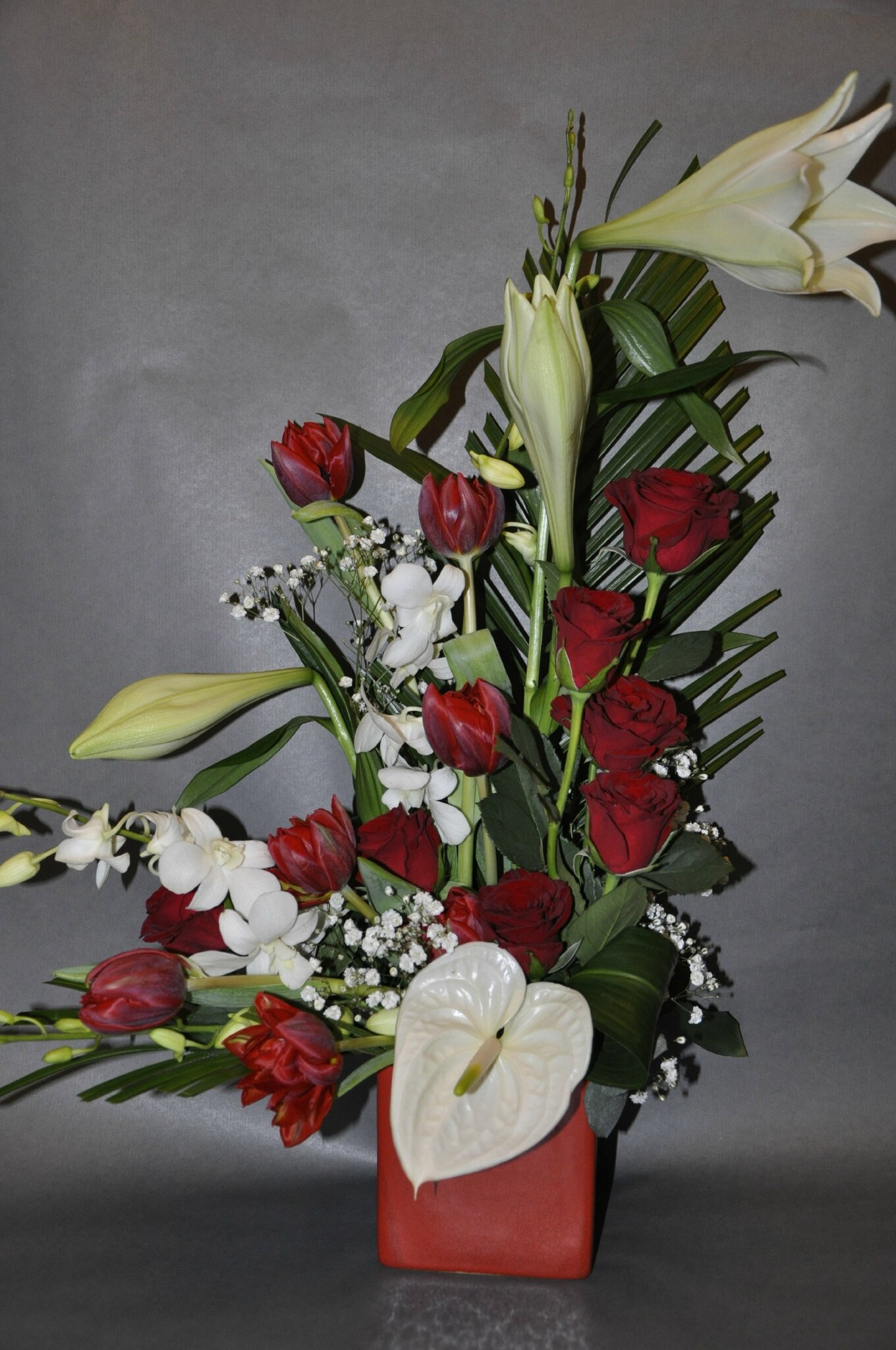 Composition st valentin photo de 2 fetes l 39 arum des sens - Composition st valentin ...