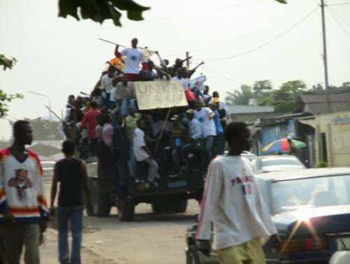 Bemba supporters
