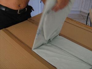 les tapes pour fabriquer la machine plier les t shirts pla net d co. Black Bedroom Furniture Sets. Home Design Ideas