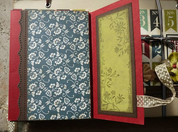 mini album souvenirs par Cathyscrap85 8