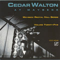 Cedar Walton - 1992 - At Maybeck (Concord Jazz)
