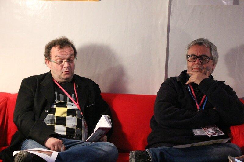 Denis le Bas Jean-Paul Lecoutour festival Jazz sous les Pommiers Coutances 2014