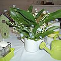 défi de table le muguet 004